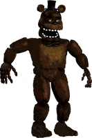 Un Withered Nightmare Freddy by boatfullogoats