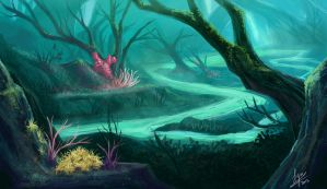 #2 Underwater River by ZLynn
