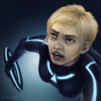 Yori fights for Tron by feralkin