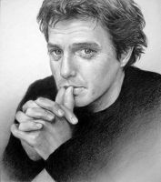 Hugh Grant by MannHau