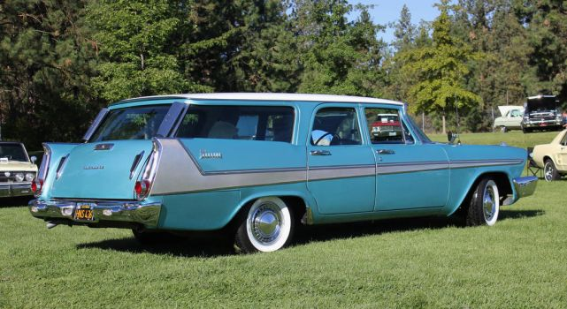 1958 Plymouth Sport Suburban by finhead4ever