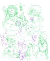 DAO - General Sketchdump by Dr-Blindsy
