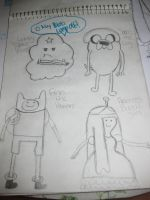 adventure time first trial by spandy123