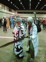 Megacon 2013 Dr.stein and Xemnas by Oblivion-Evil