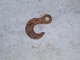 Rusted Hook Original by nitch-stock