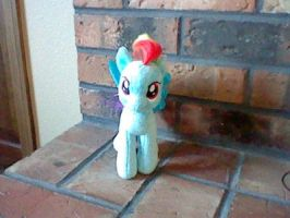 Rainbow Dash TY Plush by perry321