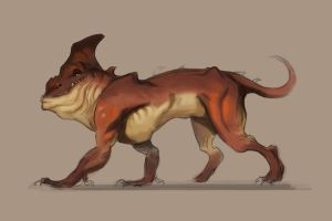 Creature Concept by Akiratang