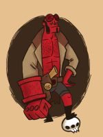 Hellboy Drawed Goods by reed682