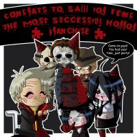 Congratulation to SAW by Psy-CHO-Aoi