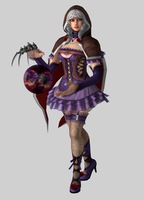 Soul Calibur V - Viola in Presentation Pose by iheartibuki