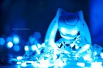 Playing with The Lights by KuroDot