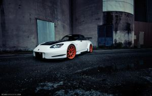 Honda S2000 - Orange slut by dejz0r