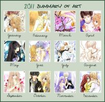 2011 Summary of Art by Kite-d