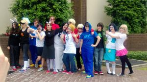 Louisianime 2013 Homestuck kids by Pixcel-light