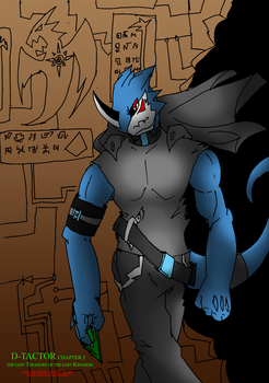 knight THe exveemon new form by DarkDragon563