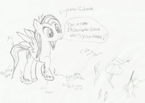 Lightning Shock (non-coloured) by lemonthecombustible