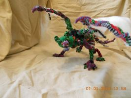 Pipecleaner Toxic Rave Demon by psycholiger13