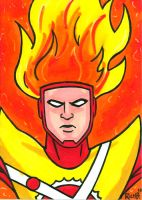 Sketchcard Firestorm by RichBernatovech
