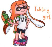 Inkling Girl by YouCanDrawIt
