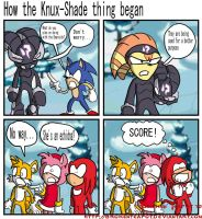 How the Knux-Shade thing began by BrokenTeapot