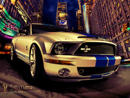 Ford Mustang Shelby Wallpaper by arafo