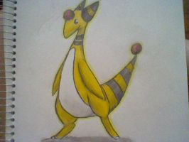 Ampharos by PinkyMaggie