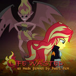 Sunset Shimmer - Life Wasted by Joeycrick