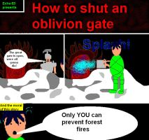 how to close an oblivion gate by echo-63