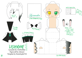 [Amour Sucre] Lysandre Chibi Papercraft by Devvil-ShinaRei