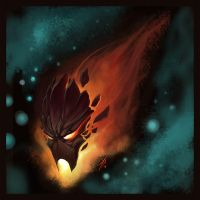 Flame mask by Night2