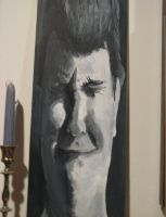 Stretched Canvas Portrait by TaylorSch