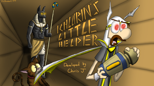 RS Quest Titlecard Series -Icthlarin's Li'l Helper by prezleek