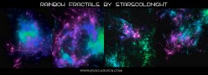 Rainbow fractal 37 by starscoldnight by StarsColdNight
