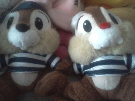 Chip n' Dale from Hong Kong Disneyland by prisc8328