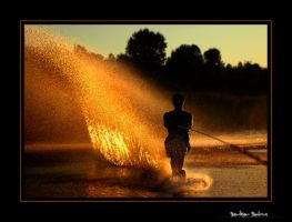 water -light- ski by berkerr