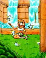 Tikal The Echidna by TheMonica180