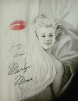 Marilyn Kiss or Mini Marilyn by objectivereflective