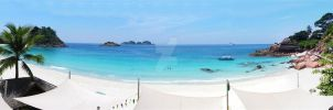 Laguna Redang Island Panorama2 by Golf-Punk