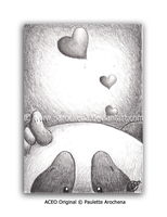 ACEO Thinking Of You by parochena