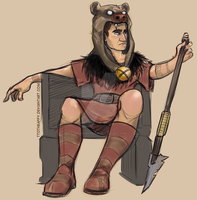 Barbaric King of the Gauls by TtotheAFFY