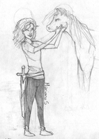 Hazel and Arion by Mariana-S