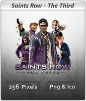 Saints Row The Third - Icon 2 by Crussong