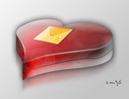 3D HEART CHOCOLATE BOX by cm96