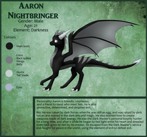 Aaron Ref Sheet :CM: by Draiconeon
