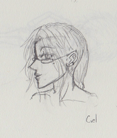 Sky-Boy in Profile - Sketch by Ruite