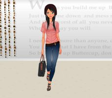 Chic Croco bag Fashion by Brandee-Ssj-Doll