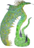Green Windserpent by Seitira