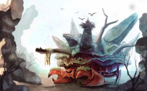 Giant Crab by I4mRe4l