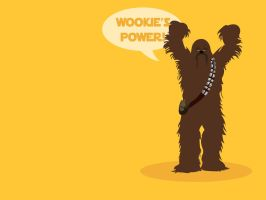 Wookie's POWER Chewbacca by Alakran