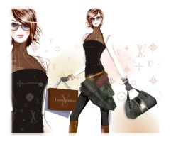 louis vuitton fashion by BreeLeman